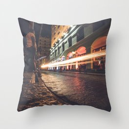 Brilliant City Throw Pillow