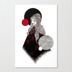 False Innocence Canvas Print