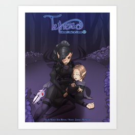 Tethered: Nor'eena's Story Poster Art Print