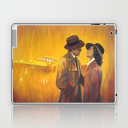 Casablanca film poster - The End Laptop & iPad Skin