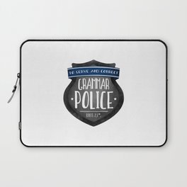 Grammar Police Laptop Sleeve