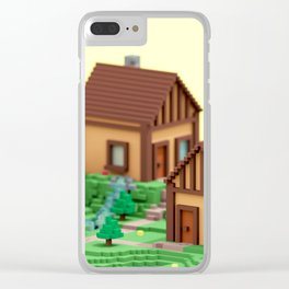voxel hamlet Clear iPhone Case