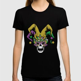 Mardi Gras Parade 2019 Beads Party Shirt Gift Idea Dark Light T-shirt