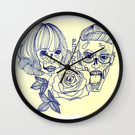 Friends Forever Wall Clock