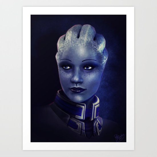 Mass Effect: Liara T'soni Art Print