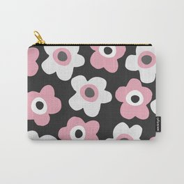 White and pink flowers Carry-All Pouch