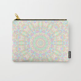 Pastel Rainbow Kaleidoscope 1 Carry-All Pouch