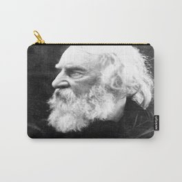 Julia Margaret Cameron - Portrait of Longfellow Carry-All Pouch