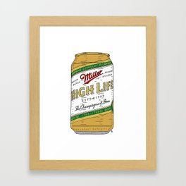 The Champagne of Beers Framed Art Print