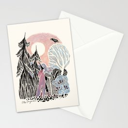 North Witch Stationery Cards