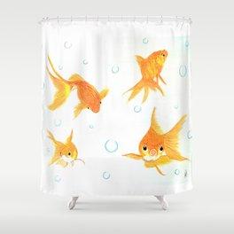 Goldfish! Shower Curtain