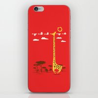 ilovedoodle iPhone & iPod Skins featuring I'm Like A Bird by I Love Doodle