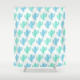 Zion Cactus Shower Curtain