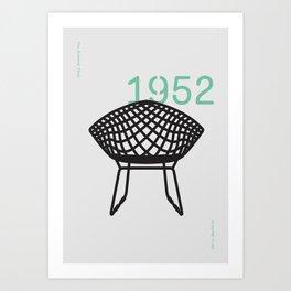 The Diamond Chair Art Print