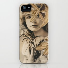 The Gilded Lillian iPhone Case