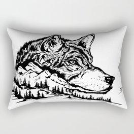 Mt. Lupus Rectangular Pillow