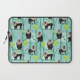 Lion tailed macaque Laptop Sleeve