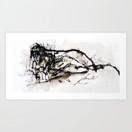 abtract 45 Art Print