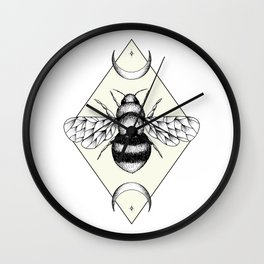 Bee Confident Wall Clock