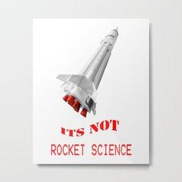 Rocket Science Metal Print