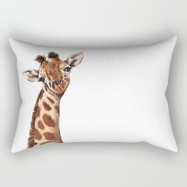 Baby Giraffe Rectangular Pillow