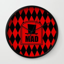 Mad Hatter - Heartless Wall Clock