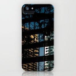 Downtown X-ing II iPhone Case