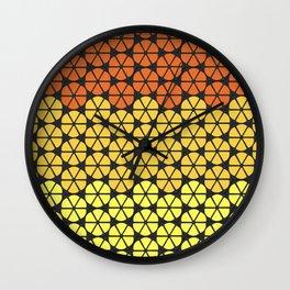 Ultraviolence Orange Wall Clock