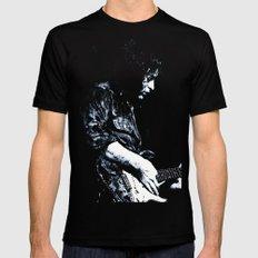 Guitar Legend 1 MEDIUM Black Mens Fitted Tee