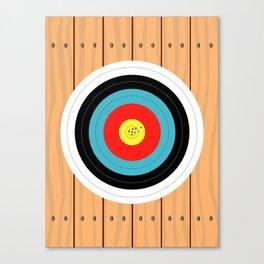 Shooting Target Canvas Print