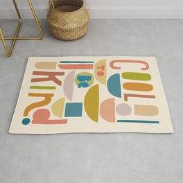 Cool to be kind #kindness Rug
