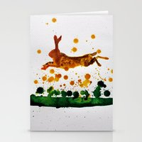 hare Stationery Cards featuring Hare by Condor