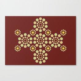 Zenyatta Orb inspired pattern Canvas Print