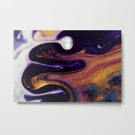 24 Carat Nebula Metal Print