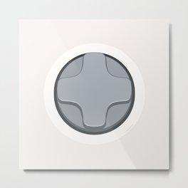 Xbox -  D-Pad Metal Print