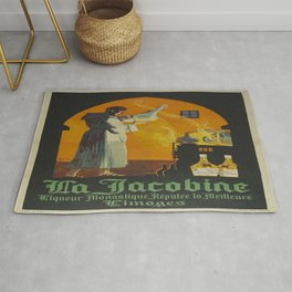 Vintage poster - La Jacobine Absinthe Rug