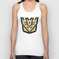 transformers Tank Tops featuring Transformers by FilmsQuiz