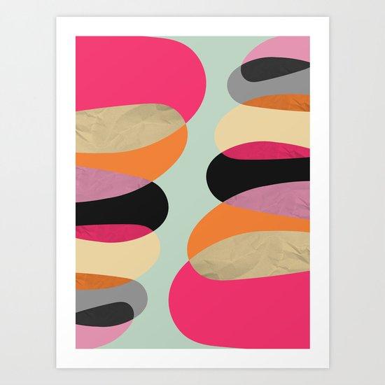 Total Balance Art Print
