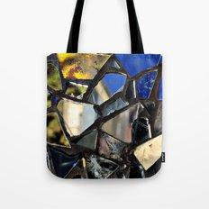 Closeup (PHOTO) of a Glass Mosaic Tote Bag