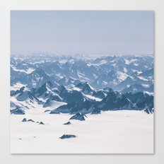 Mountains of Madness SQ Canvas Print