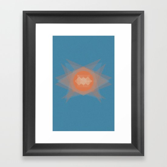 untitled shape 2 Framed Art Print