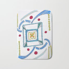 Happiness today choose happiness! Bath Mat