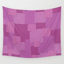 Pink Platformer Wall Tapestry