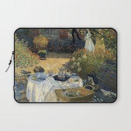 Claude Monet - The luncheon Laptop Sleeve