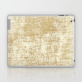 gold crackle Laptop & iPad Skin