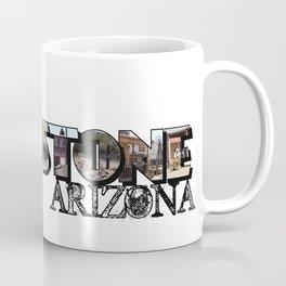 Tombstone Arizona Big Letter Coffee Mug