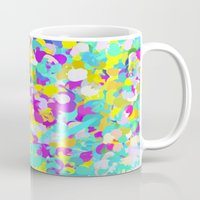 confetti Mugs featuring Confetti  by Maggie Dylan