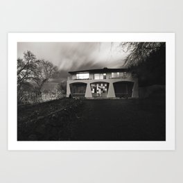 The PinesMonster House Art Print