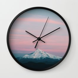 Mount Hood III Wall Clock