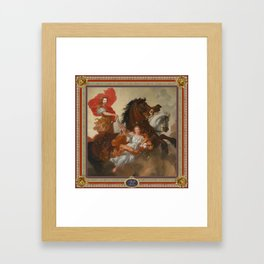 Apollo and Aurora Framed Art Print